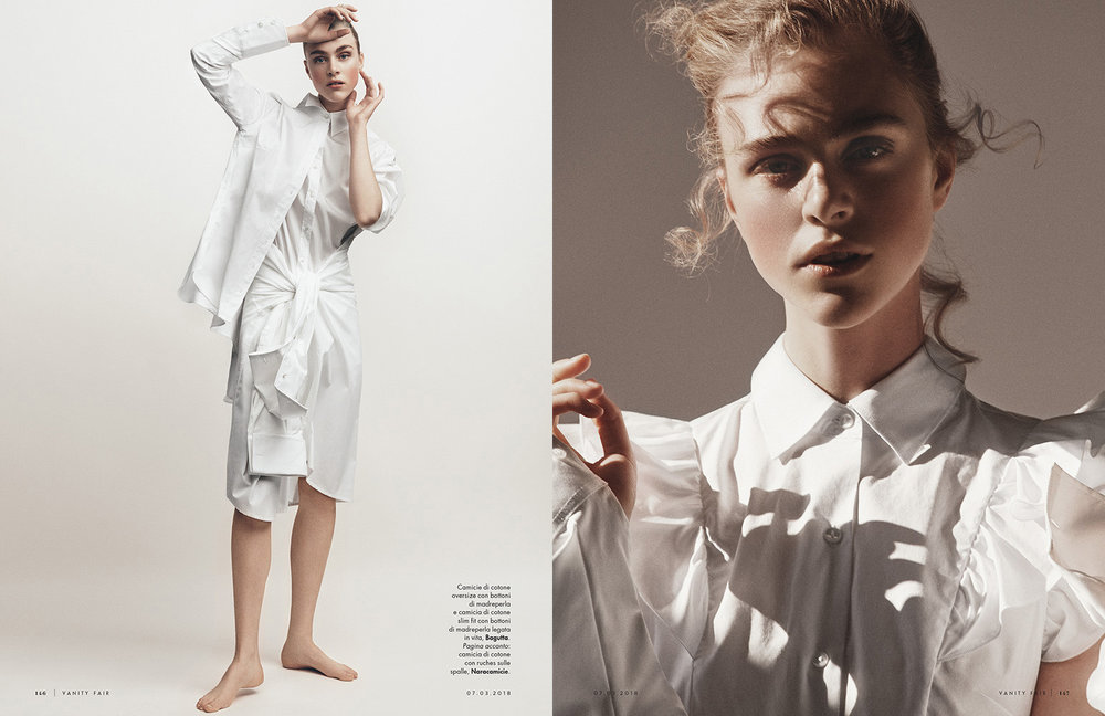 VANITY FAIR ITALIA The White Code by Tom Schirmacher
