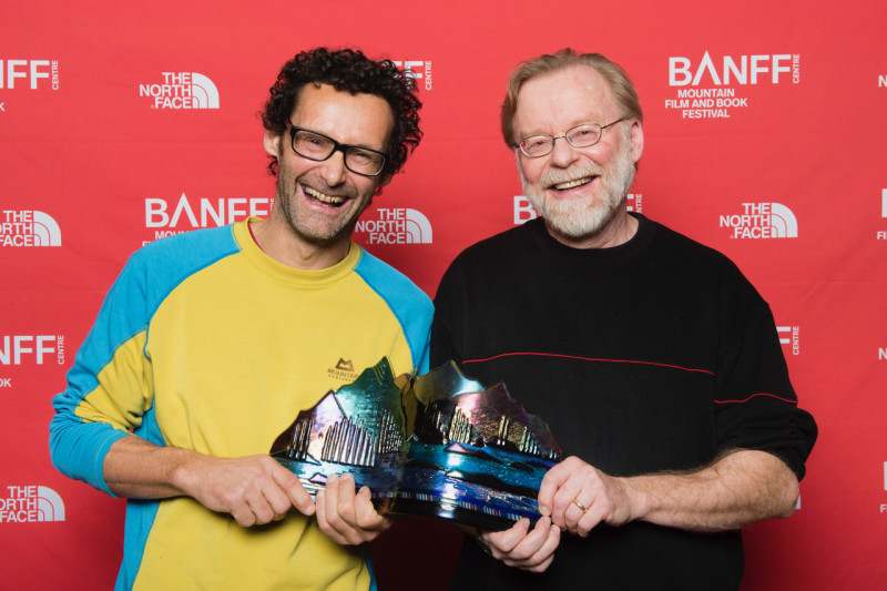 Book Awards, Banff Mountain Film and Book Festival, 2017, Banff Centre.