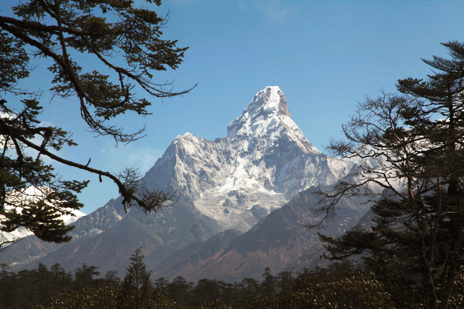 The one and only Ama Dablam.