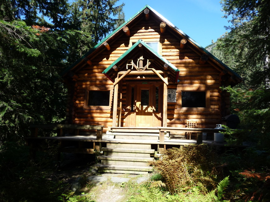 A.O. Wheeler Hut will undergo upgrades this year.