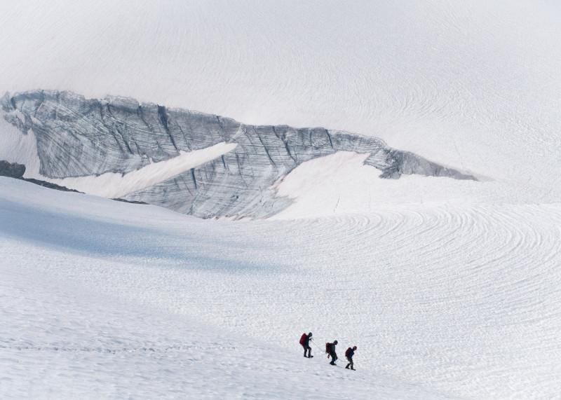 Alexander Kosyak: Descending Primrose Peak, British Columbia, Canada