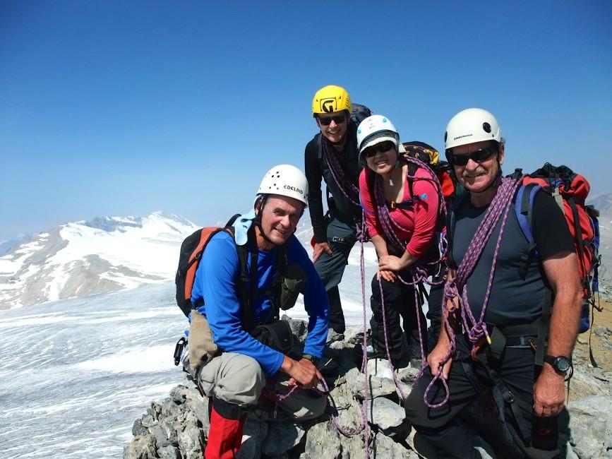 Team summit shot. Photo by Nellie Johnson.