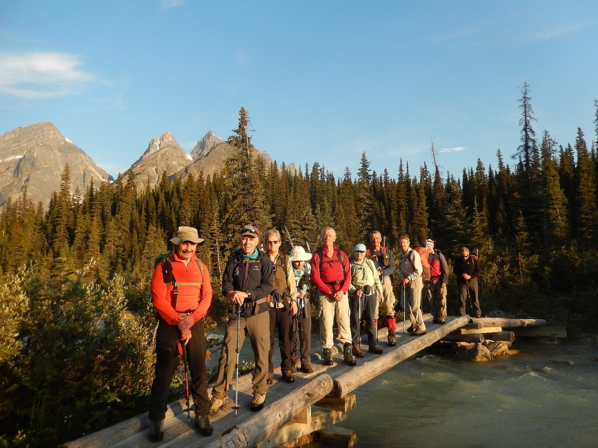 Exploring the Tonquin Valley. Photo by Rick McKelvey.