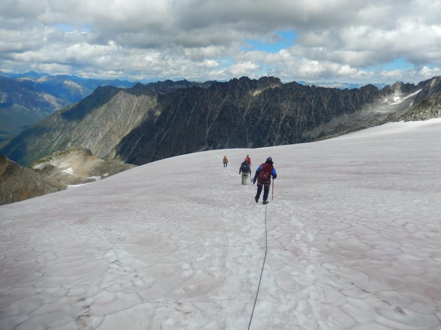 High summer on Kokanee Glacier. Photo by Rick McKelvey.