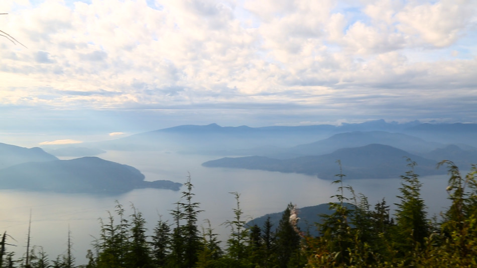 A view of Howe Sound from part of the Howe Sound Crest Trail. Photo by Heather Mosher.
