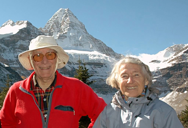 Richard and Louise at Mt. Assiniboine.