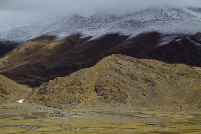 Tibetan landscape.