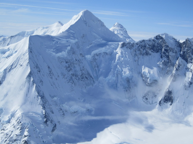 North Ridge of Weisshorn – unclimbed walls and ridges in the St. Elias.