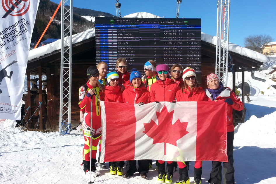 National Team, World Championships, Verbier CH February 2015.