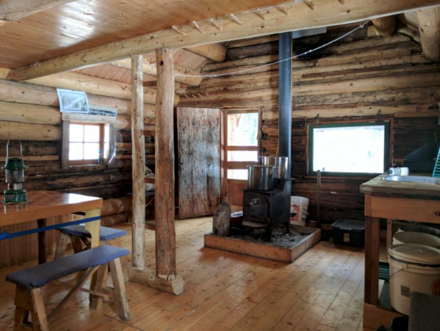Glacier Circle Cabin. Photo by Nicole Larson.
