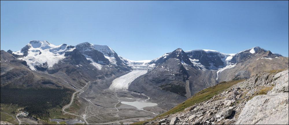 Athabasca Glacier circa 2011.