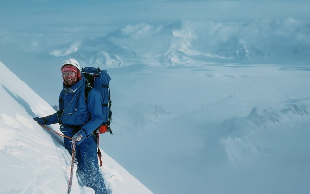 John Lauchlan on Mount Logan. Photo Jim Elzinga