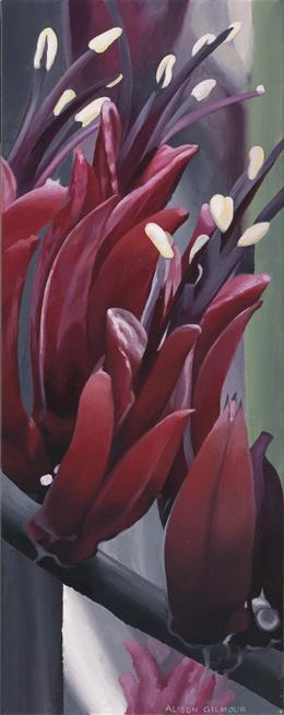 Harakeke Blooming