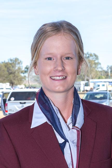 Beth Hafey of the Australian Polocrosse World Cup team