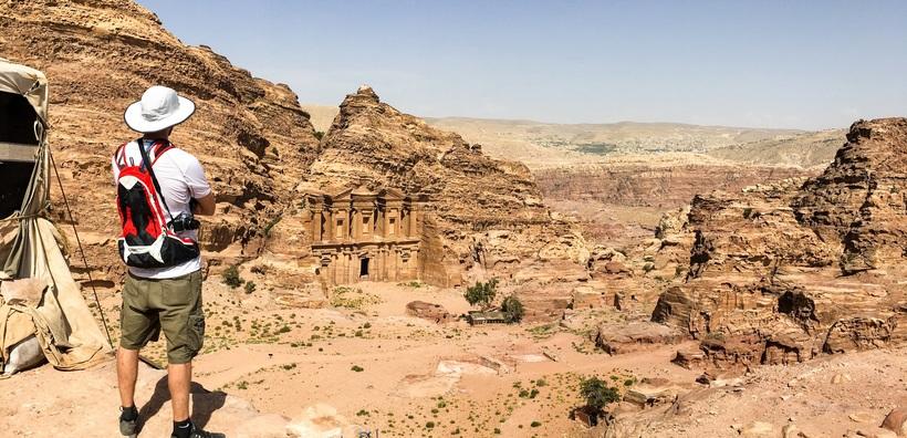 Director of Photography,Ashton Harrewyn in Petra, Jordan