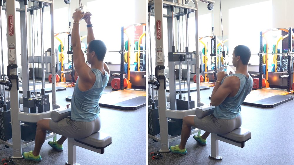how to do a pull up range of motion