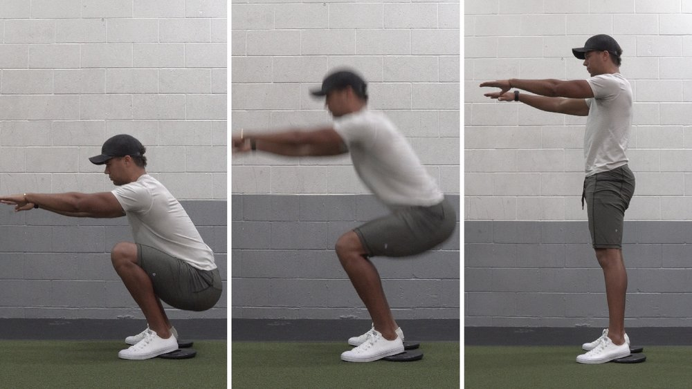how to squat for beginners bodyweight squat