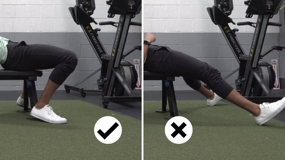 how to bench press for women heel leg placement