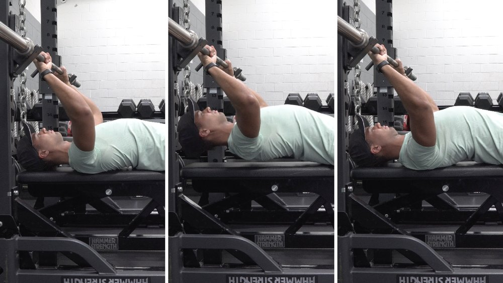 how to bench press for women set up