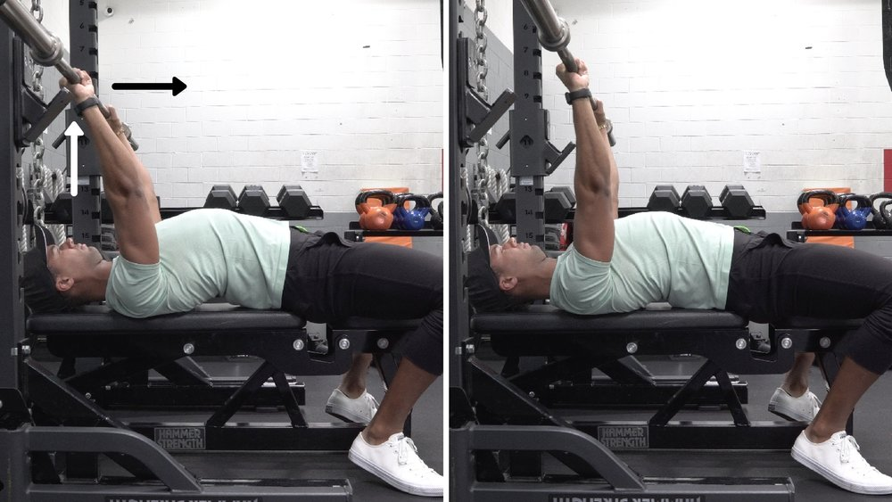 how to bench press for women unrack bar