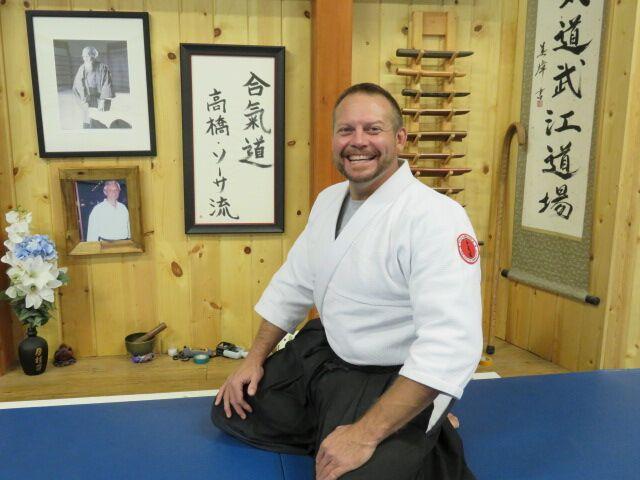 5th Degree Black Belt (Godan); Aikido
