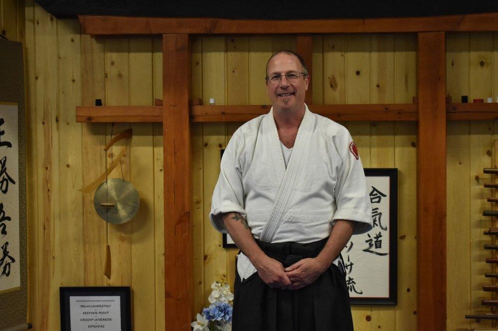 Chris Kolve  4th Degree black belt- Aikido