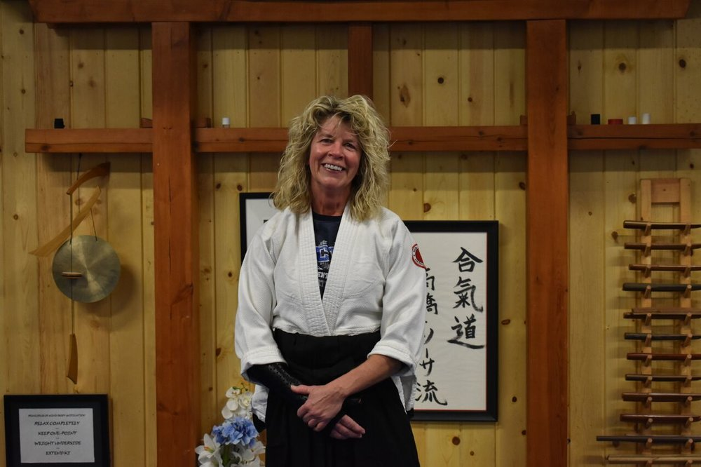 Ginny Lalley  2nd Degree Black Belt- Aikido