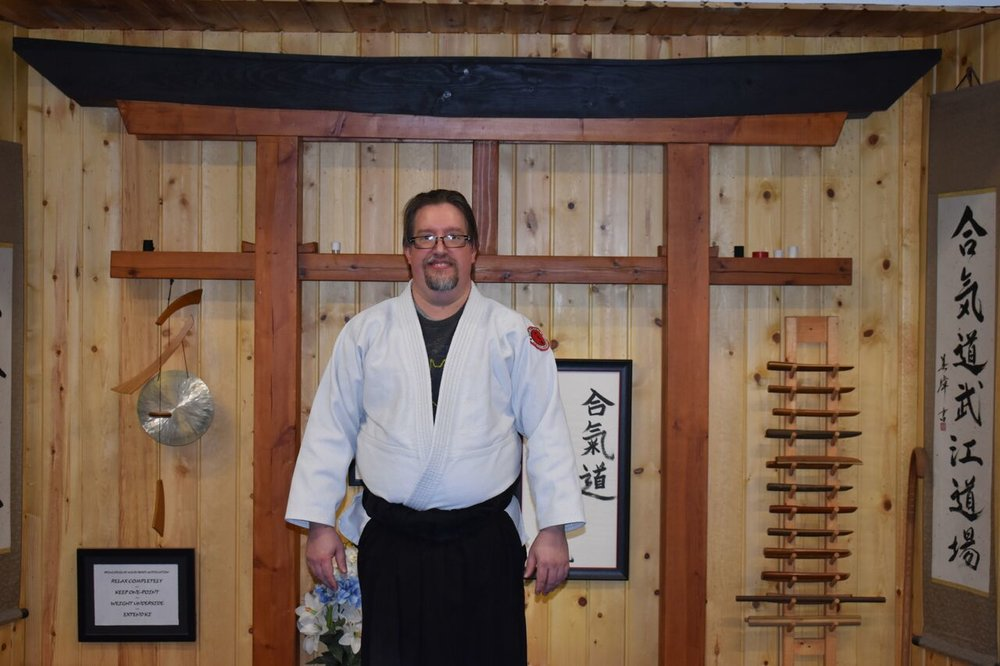 Chuck Hahr  2nd Degree Black Belt- Aikido