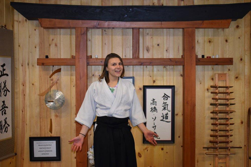 Rachel Mazac  2nd Degree Black Belt- Aikido