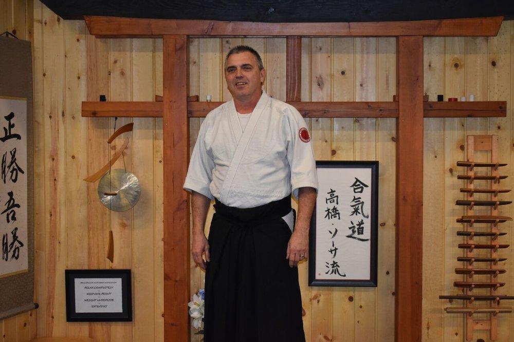 Ken Mazac  1st Degree Black Belt- Aikido