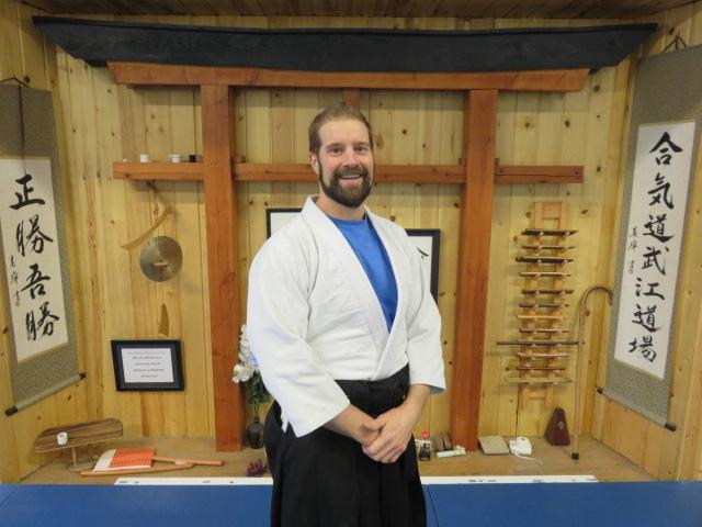 Chris Kopp  Brown Belt- Aikido