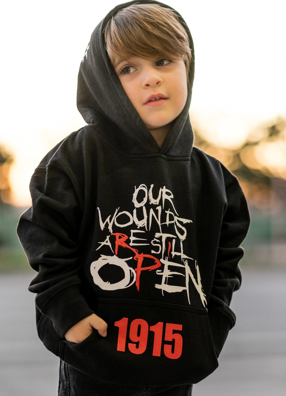 OPEN WOUNDS MISSION - Open Wounds is a 501c non-profit organization that uses fashion, music and social media to educate and empower youth all over the world about crimes against humanity, both current and past.