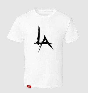 caa0db68433570 The Pentagon LA Logo Tee - (WHITE) ...