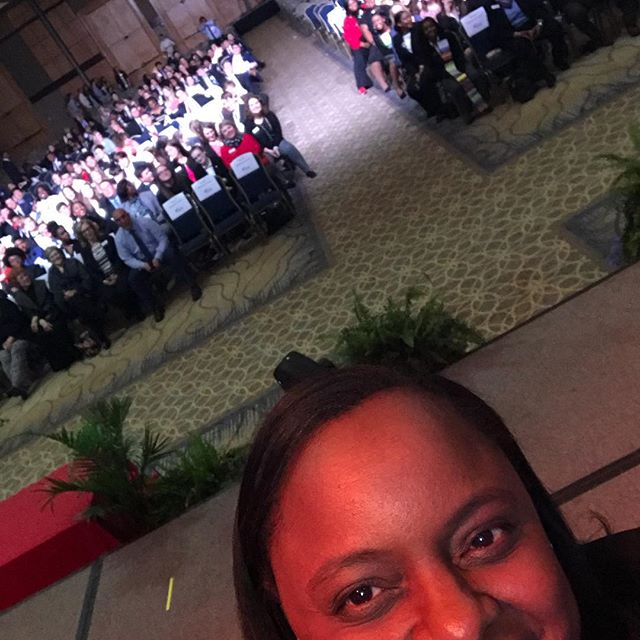 SELFIE SUNDAY: I was so amazed by the talented students at the state FBLA conference this month. It was such an honor to speak to them.