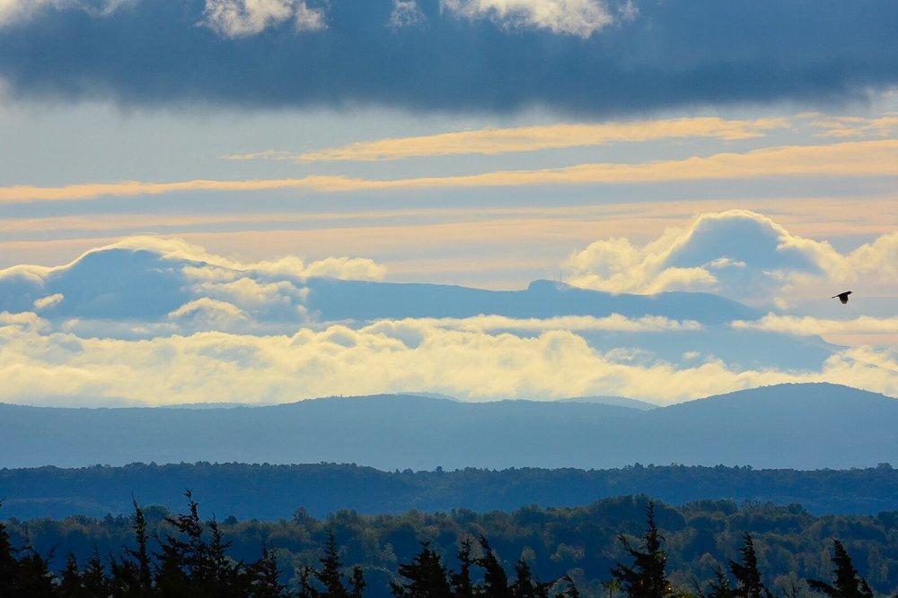 Clouds Rising around Mount Mansfield