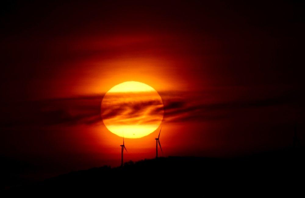 Wind Turbines at Sunrise_1