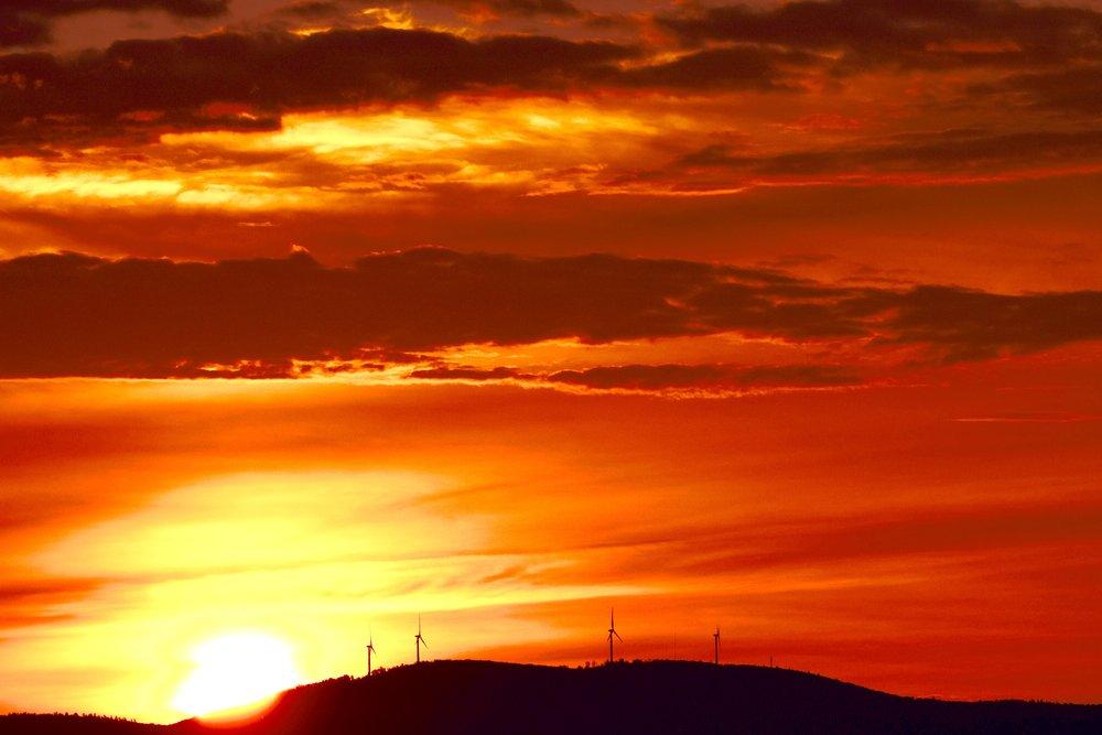 Wind Turbines at Sunrise_4