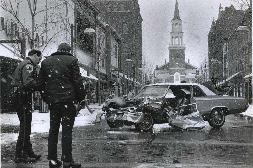 Church Street Car Crash