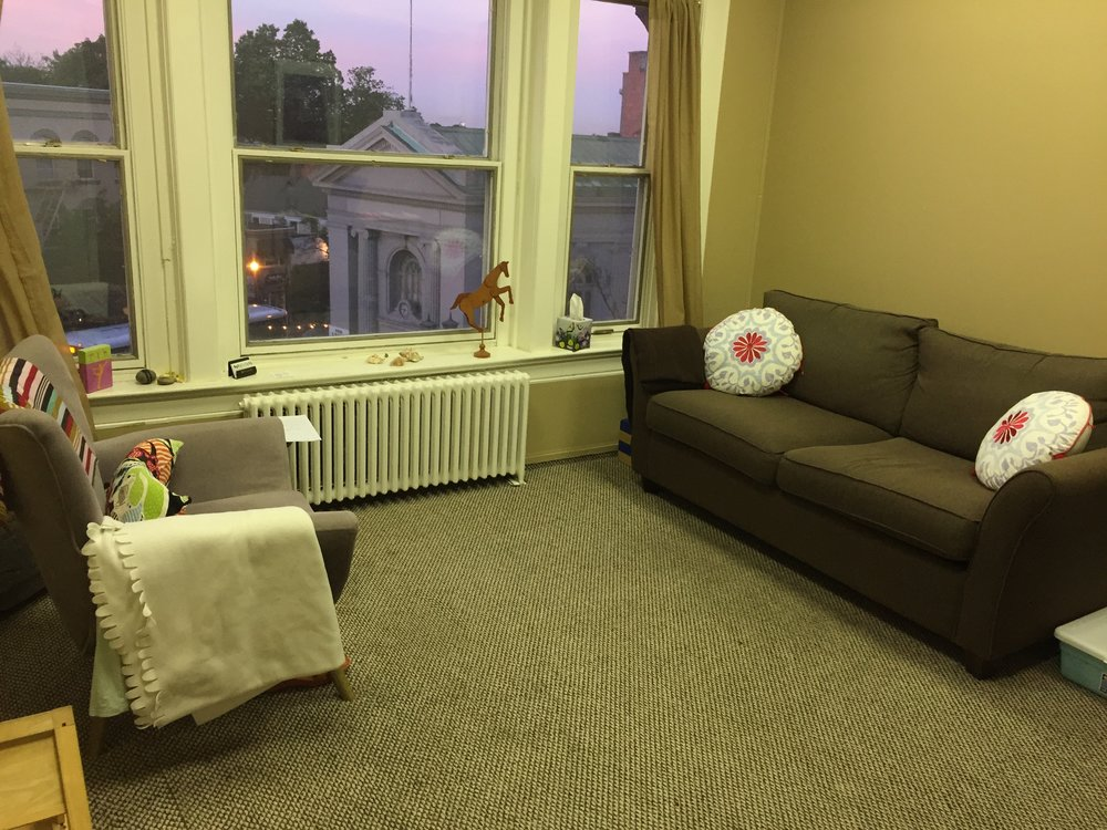 - My office is private, cozy and comfortable with a huge windows that allow for plenty of natural light.