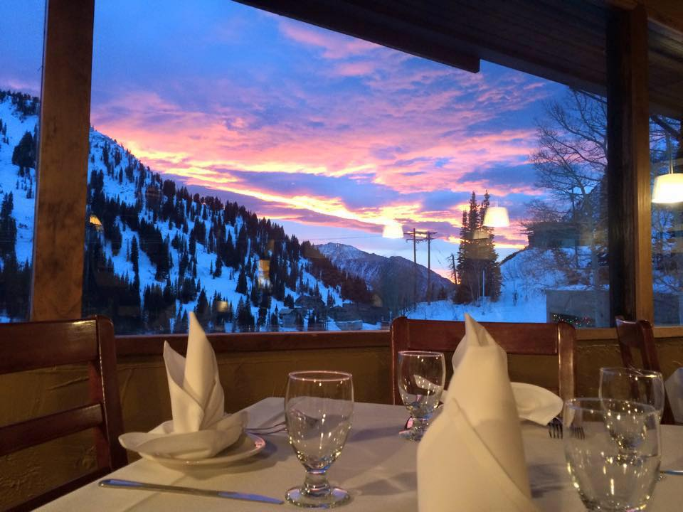End your day with this view! - Relax after a day of skiing at the Shallow Shaft Restaurant or come up the canyon for a relaxing fine dining meal paired with an award winning wine selection.Call us today to book your private event! Whether it's a holiday party, office party, rehearsal dinner or birthday party, we offer set menus and wine pairings for your large party celebration. For very large party's (75 maximum occupancy), inquire about our restaurant buy out for the night!