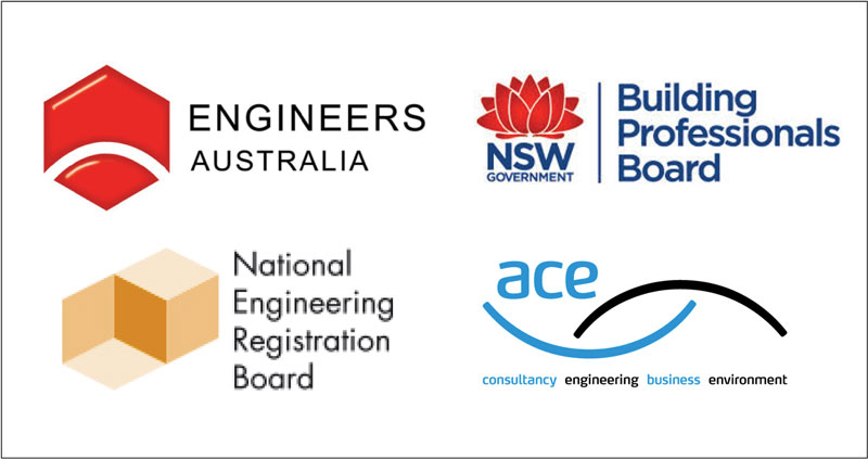 Our engineers are recognised by these professional institutions.