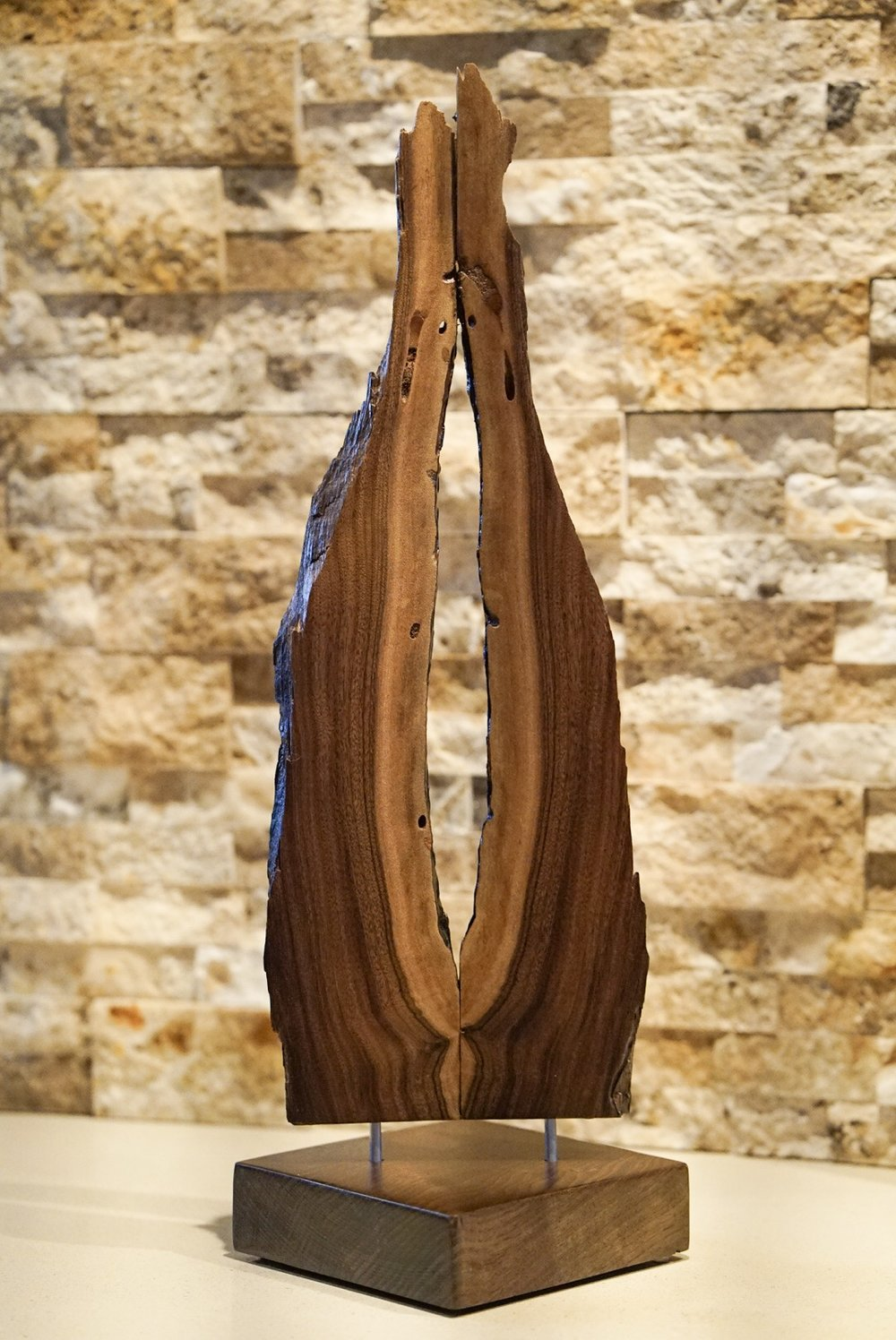 Jewelry Display Stand. Walnut.