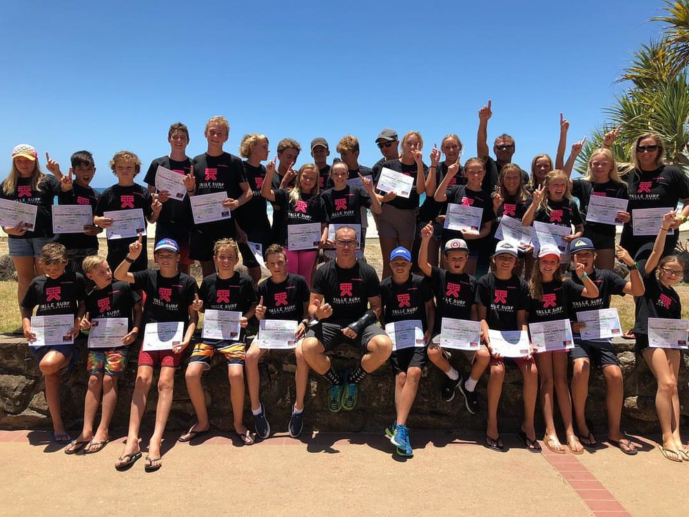 Talle Surfsports AcademyNipper Camp 2018