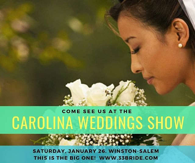 Only 6 days til our 2nd wedding show of 2019. Newly engaged? Send us a message to find out how we can get you a discount on tickets!