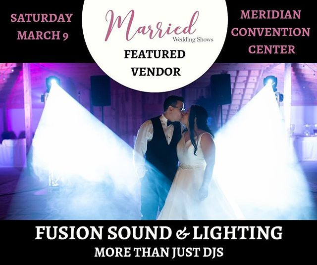 This Saturday!!! Our team can't wait to meet more amazing couples.