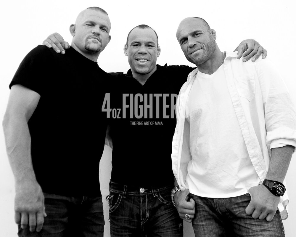 Chuck, Randy & Wanderlei