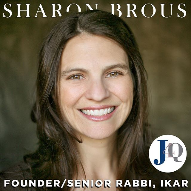 New #podcast episode of Jay's 4 Question is up! This week @jaysanderson_la sits down with Rabbi Sharon Brous, founder and senior rabbi of @ikar_losangeles. Check it out on SoundCloud, iTunes, and Stitcher! New episodes every Wednesday. #jays4questions