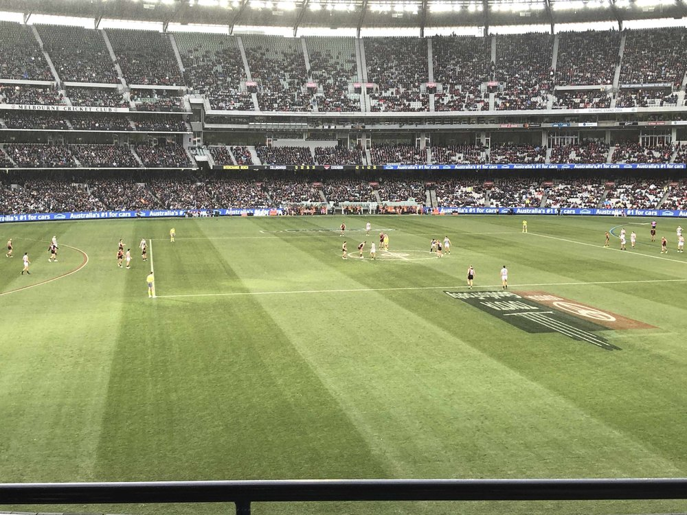 Big Freeze at the G MCG AFL Level 2 view tickets