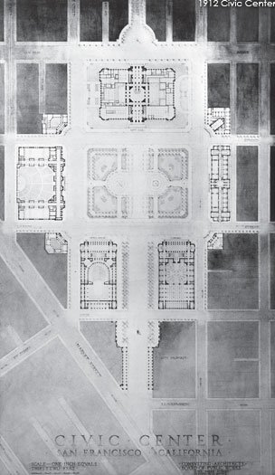 1912 Civic Center plan