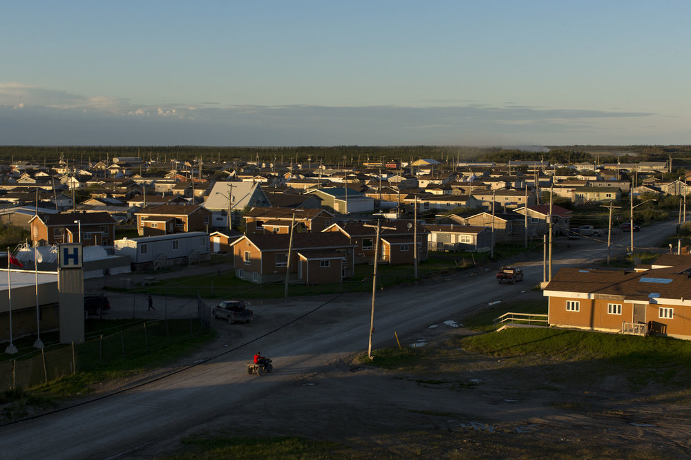 'People of the Parting Rocks' for The Pulitzer Centre on Crisis Reporting . The First nations community of Attawapiskat, Ontario.